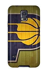 Hard Plastic Galaxy S5 Case Back Cover,hot Indiana Pacers Nba Basketball (8) Case At Perfect Diy