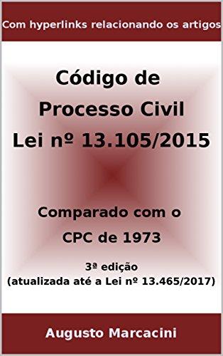 fafb1a2396 Novo Código de Processo Civil  Comparado com o CPC DE 1973 - 3ª ed.