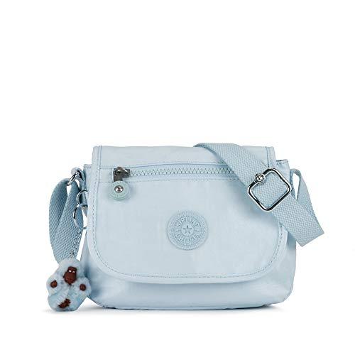 Kipling Sabian Crossbody Metallic Mini Bag One Size Fainted Blue Mtlc