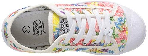 Le Temps des Cerises Mädchen LC Basic 02 Schnürhalbschuhe Mehrfarbig - Multicolore (Bloom)
