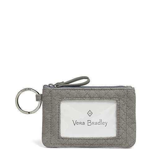Vera Bradley Iconic Zip ID Case, Denim, One Size