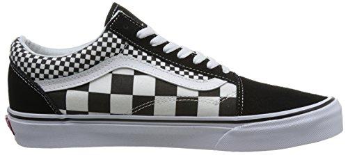 Vans Old Skool Unisex Adulti Sneakers Basse Nero / Bianco