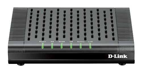 D-Link DOCSIS 3.0 Cable Modem (DCM-301) Compatible with Comcast Xfinity, Time Warner Cable, Charter, Cox, Cablevision, and More