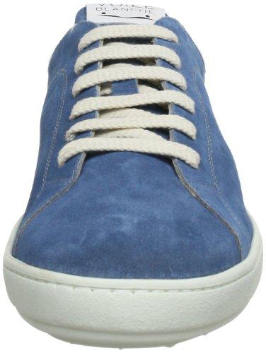 Voile Blanche GOTLAND 2006823029117 - Zapatillas de cuero para hombre Azul (Blau (Azzurro 9117))