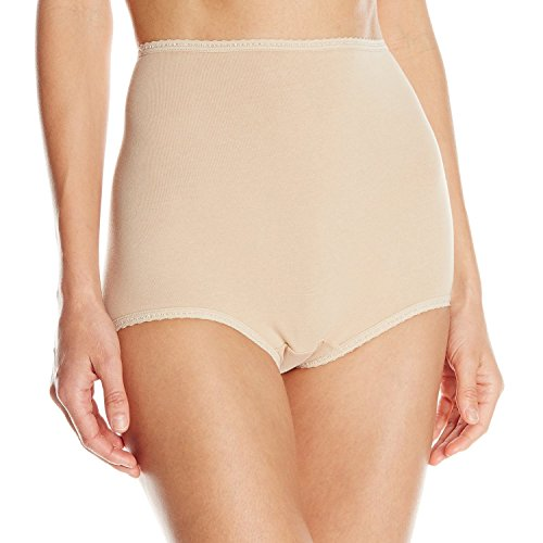 Bali Cool Cotton Skimp Skamp Brief, Nude, 9