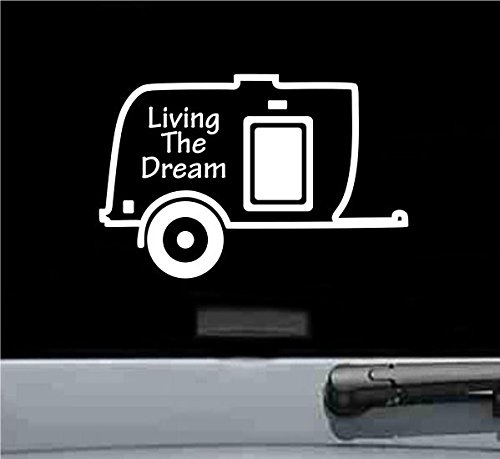 Camper Camping Living Dream Sticker product image