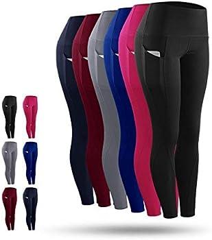 Solid Womens Breathable Comfortable Yoga Pants Leggings
