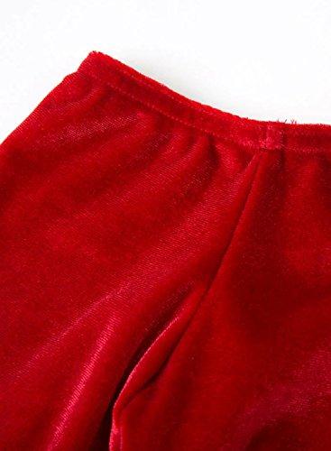 Futurino - Vestido - trapecio - para mujer Rosso
