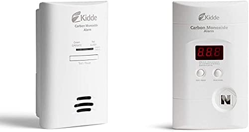 Kidde AC Carbon Monoxide Detector Alarm Plug-in with Battery Backup Model KN-COP-DP2 Nighthawk Plug-in AC DC Carbon Monoxide Alarm Detector with Digital Display KN-Copp-3