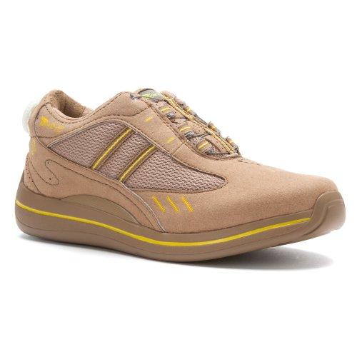 A Attiré Baskets Bethany Femmes Chaussures, Beige, 7,5 Xw