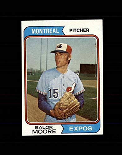 453 Mint - 1974 Topps Baseball #453 Balor Moore STARX 9 MINT OC CS49497