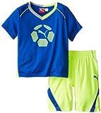 PUMA Little Boys' Boy Team Perf Set, Competition Blue, 5