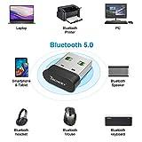 Bluetooth Adapter for PC,Techkey USB Mini