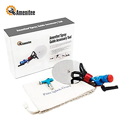 Amenitee Spray Guide Accessory Tool Airless Paint Sprayer 517 Tip 7/8 Inch Paint Splash Guard