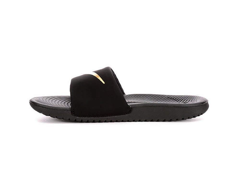 85973cd8935e ... Nike Slide Kawa Womens Black Swarovski Bedazzled Shoes Bling Nike  Customized for you by Sparkle Me ...