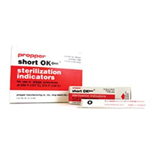 WP000-PT -264101 264101 Strips Indicator Sterilization OK for Steam 4x9/16