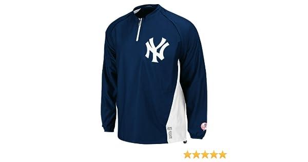 Amazon.com : MLB Mens New York Yankees Gamer Jacket Long ...