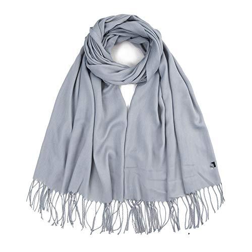 Design Warm Winter Scarf Women Long Scarves Femael Scarf Shawl For Ladies 17065cm,light gray