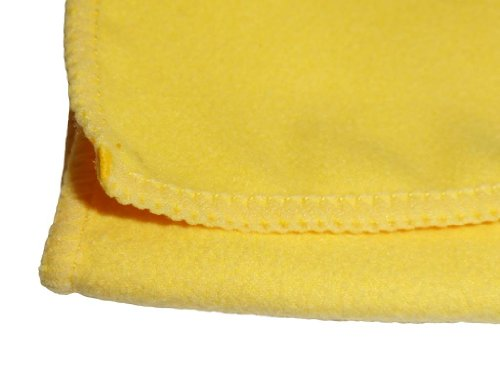 ATLAS Microfiber Polishing Chamois Cloth Towel - 12-Pack