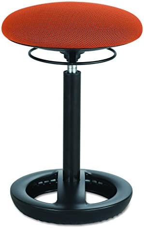 Safco Twixt Active Seating, Orange