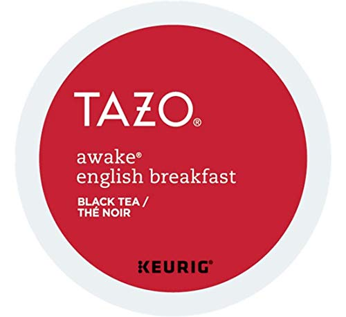 Keurig Tea and Ice Tea Pods K-Cups 18/22 / 24 Count Capsules ALL BRANDS/FLAVORS (Twinings/Chai/Celestial/Lipton/Tazo/Diet Snapple) (24 Pods Tazo Awake Tea) -  Globalpixels