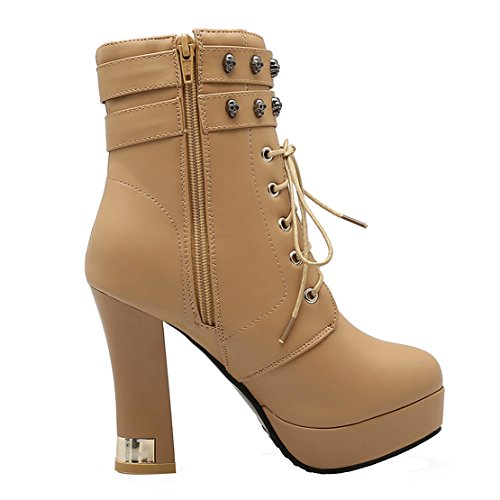 AIYOUMEI AIYOUMEI Boot Boot Classic AIYOUMEI apricot Women's AIYOUMEI Classic apricot Classic apricot Boot Women's Women's wUqaBwv