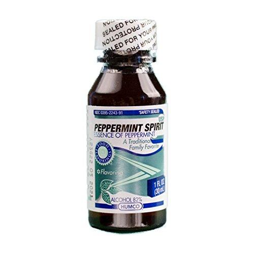 Peppermint 1 Ounce Liquid (Humco Peppermint Spirits, 1 oz.)