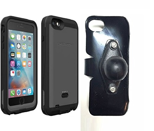 SlipGrip RAM Holder for Apple iPhone 6 Plus Using LifeProof Fre Power Case