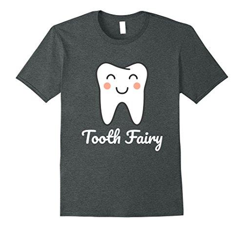 Mens Tooth Fairy Costume T-Shirt XL Dark