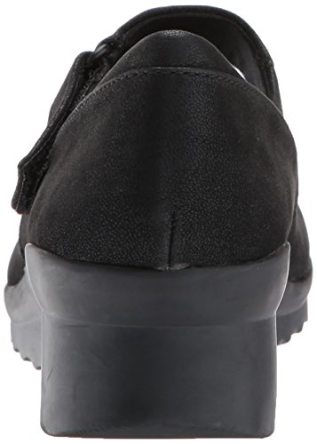 Clarks Womens Caddell Yale Wedge Pump Black