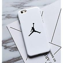 3SA STORE USA Case iPhone 5 / 5S / SE WHITE Hard Plastic Michael [AIR] Supreme Jordan Legend black basketball air basket 23 nba player