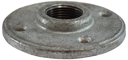 Midland 64-693 Galvanized Iron #150 Floor Flange, Size, Iron, 3/4