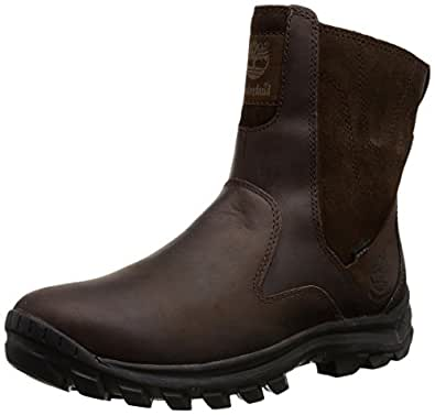 Amazon.com | Timberland Men's Chillberg Mid Side-Zip INS