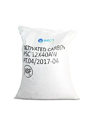 WECO Coco Shell Catalytic Carbon for Water Filters - 1 cu.ft (12 X 40 MESH) from WECO