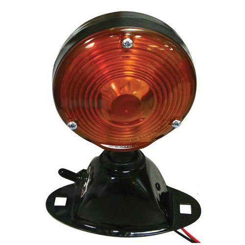 Light Assembly - 12V Safety Flasher w/ Switch Round Ford Ford C5NN13N359E D3NN13R300E11M D3NN13R300E30M D4NN13N359C (Volt 12 Flashers)