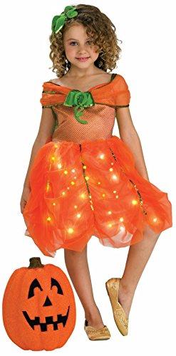 (Child's Twinkle Pumpkin Princess Costume,)
