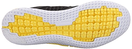 Zapatillas De Running Reebok Hombres Zprint Run Black / Gravel / Yellow Spark