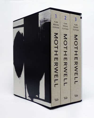 Robert Motherwell Paintings and Collages: A Catalogue Raisonné, 1941-1991 (3 Vol Set)