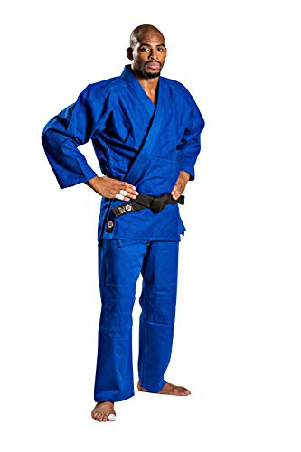 Ronin Brand Single Weave Blue Judo Uniform (4)