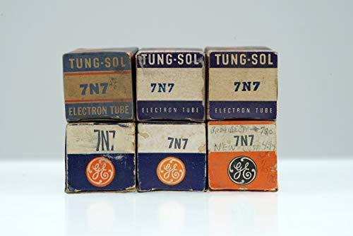 (6 Vintage 7N7 / CV898 Loctal Twin Triode Preamp Tube Valve - BangyBang Tubes)