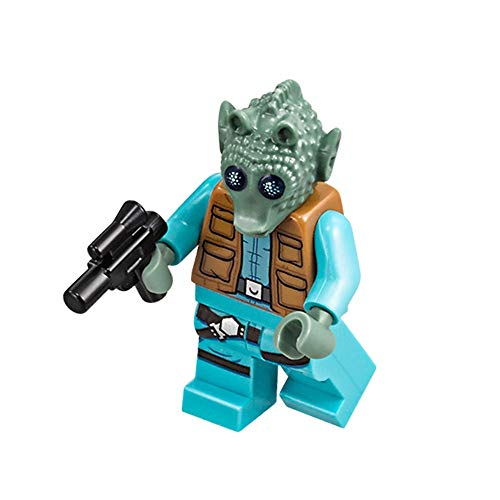 LEGO Star Wars Minifigure - Greedo The Bounty Hunter (with Belt and Blaster) 75205 ()
