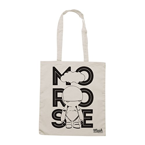 Borsa GUIDA GALATTICA PER AUTOSTOPPISTI MARVIN - Sand - FILM by Mush Dress Your Style