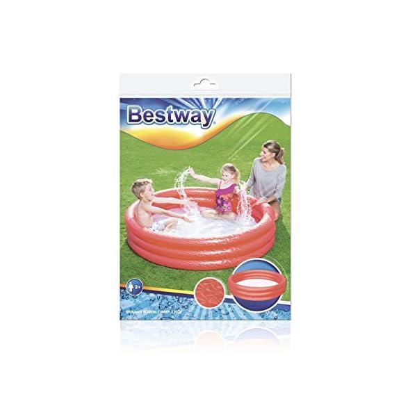 Bestway 51026 - Piscina gonfiabile a 3 anelli, ca. 152 x 30 cm, Colori assortiti 5 spesavip