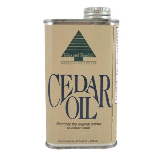 Cedar Oil Stain (Oil of Cedar Wood, 8 Oz.)