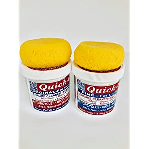 Quick Glo Metal Polish Original & Fine With Applicator Kit