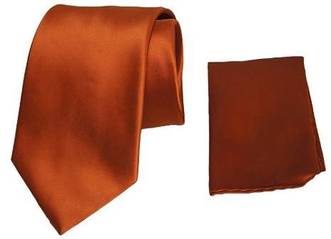 Finelli corbata naranja con inserción Toalla: Amazon.es: Ropa y ...