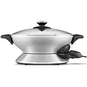 Breville RMBEW600XL the Hot Wok, Silver, Certified Refurbished