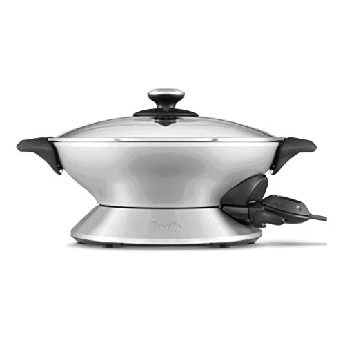 Breville RMBEW600XL the Hot Wok, Silver, Certified Refurbished by Breville