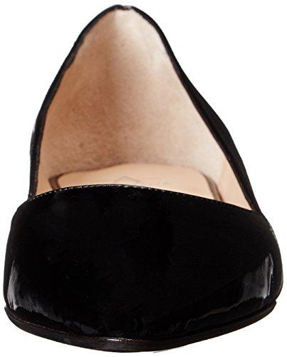 Aquatalia Patent Kate Flat Ballet Black Women's r4rgExqA