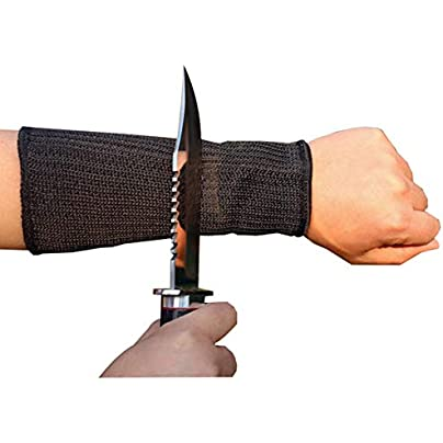 Sports Bag Wire Arm Guard Arm Black Cut Protection Wrist Braces Wire Reinforced Wristband Polyester Sleeve Protect Your Arms from Damage Estimated Price £13.65 -